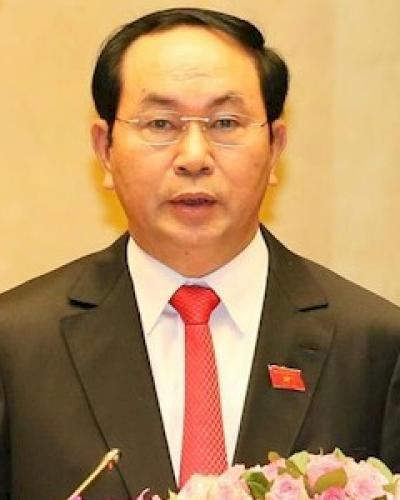 presidente vietnamita Tran Dai Quang