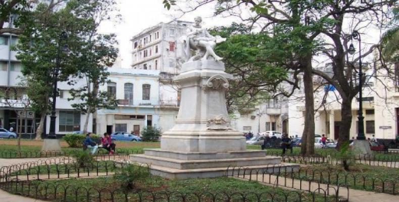 Monumento al Miguel de Cervantes en Havano