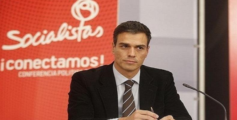 Pedro Sánchez (foto archivo)