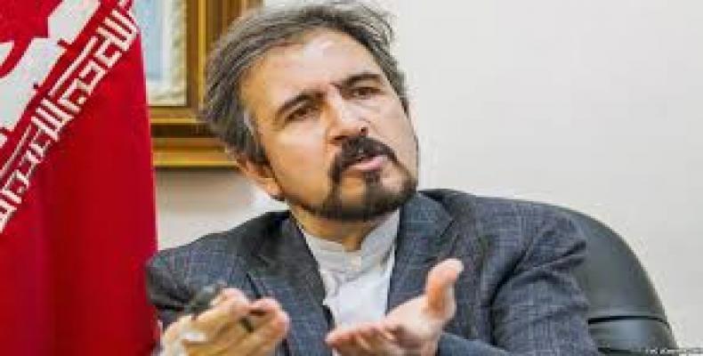 Iran's Foreign Ministry Spokesperson Bahram Qasemi