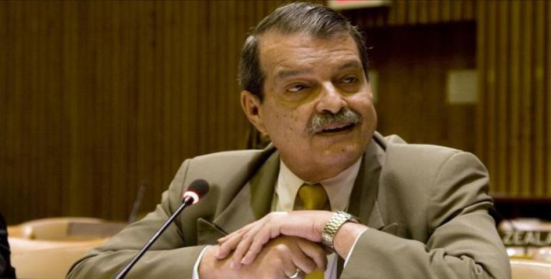 Deputy Minister of Foreign Affairs of Cuba, Abelardo Moreno Fernández. File photo