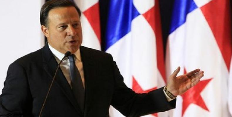 El presidente, Juan Carlos Varela encabeza la delegación de Panamá a la cita de Lima. Foto: Archivo