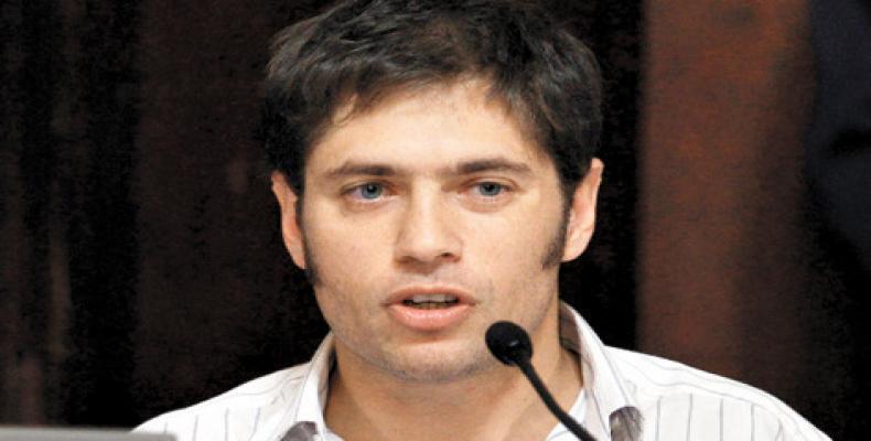 Axel Kicillof, exministro argentino de Economía