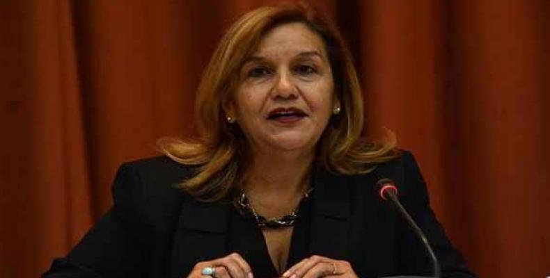 Elba Rosa Pérez envió un mensaje de felicitación a todos los científicos de Cuba. Foto: Archivo