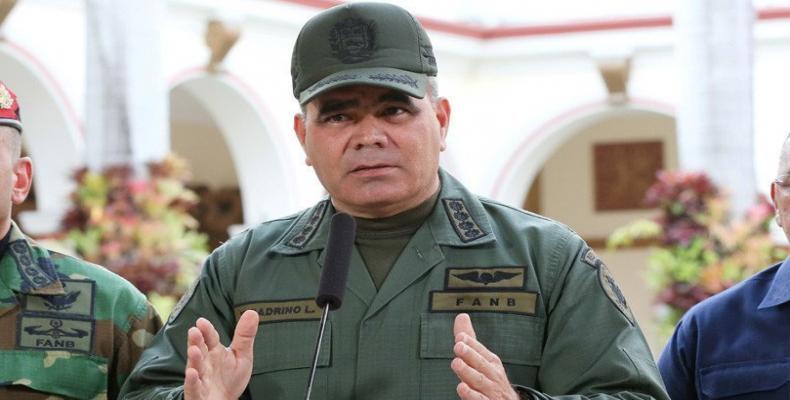 Ministro de Defensa, Vladimir Padrino,