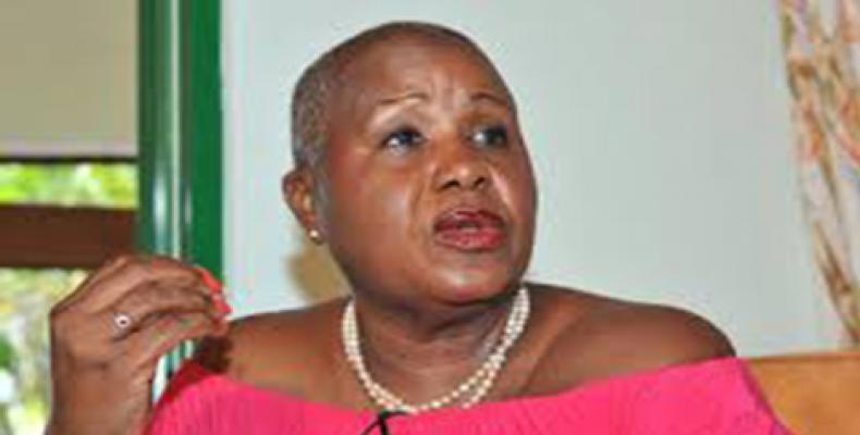 CARIWA Vice-President Marilyn Rice-Bowen