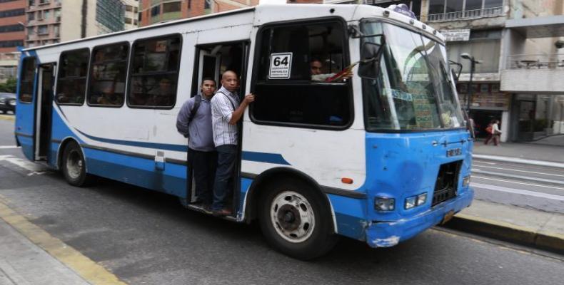 Se censan en Venezuela más de un millón 500 mil unidades de transporte. Foto: Descifrado.