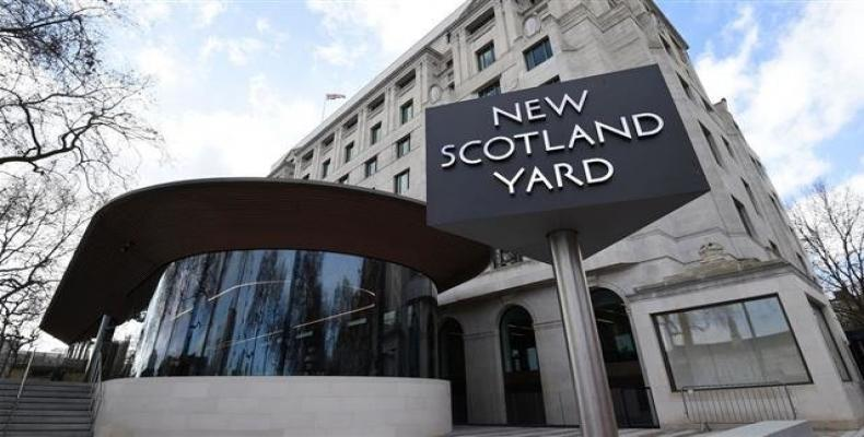 File photo shows a view to the New Scotland Yard (London police force) office in London.  Photo: Reuters