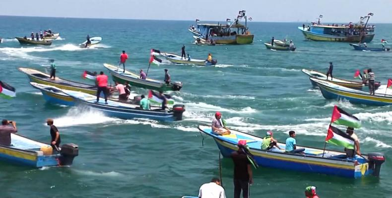 Palestine Freedom Flotilla campaign.  Photo: freedomflotilla.org