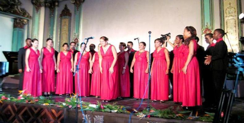 Coro Madrigalista participará en el tradicional Festival Internacional de Coros, de Santiago de Cuba . Foto: Periódico Sierra Maestra