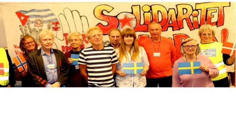 Realizan en Suecia Encuentro Nórdico de Solidaridad con Cuba. Foto: PL.