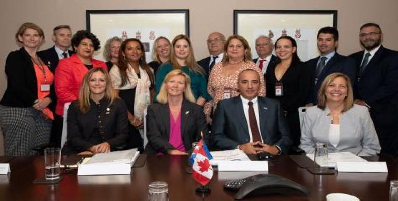Ambas delegaciones reiteraron su disposición a mantener estos intercambios en el futuro. Foto: Cubaminrex