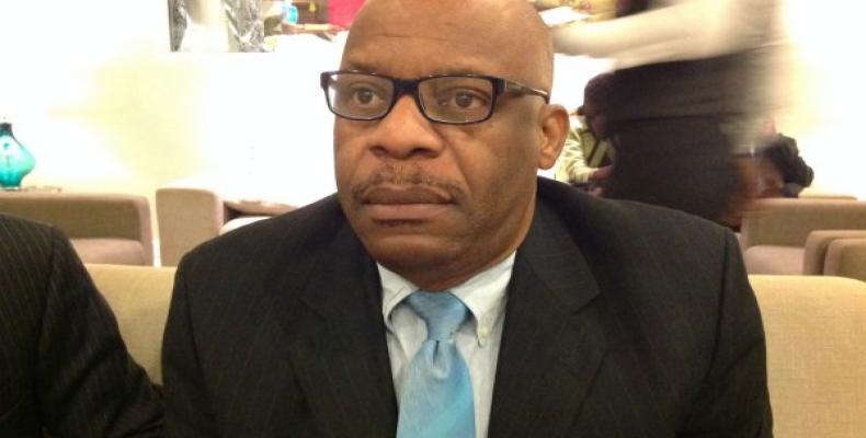 Presidente del Consejo Electoral de Haití, Pierre-Louis Opont.