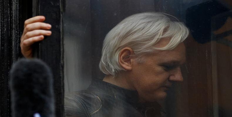 Julian Assange has been in Ecuador's embassy in London since June 2012.  Photo: Reuters
