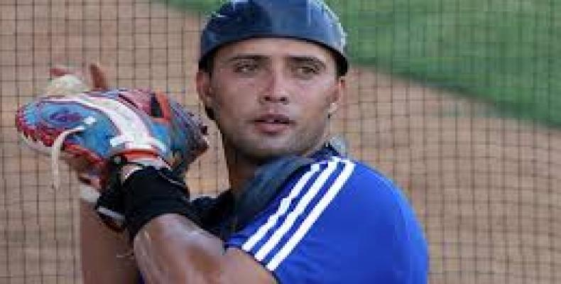 Catcher Frank Camilo Morejon is one of the eight Cuban players to join the Italian Baseball League.