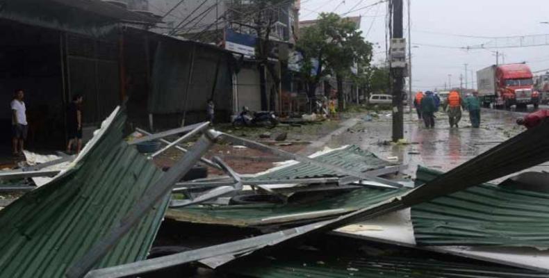 Vietnam reconstruirá infraestructuras dañadas por desastres naturales. Foto: PL.