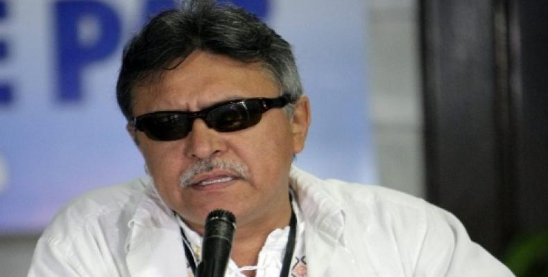 Jesús Santrich, dirigente de las Farc-E.  Foto:  Reuters
