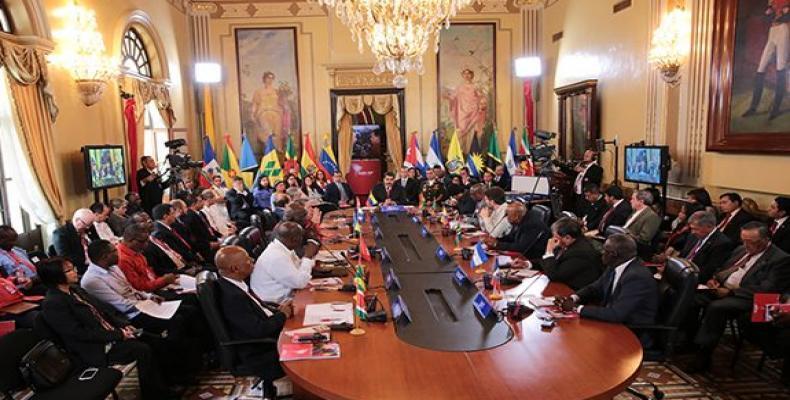 El ALBA-TCP defiende la independencia, la autodeterminación y la identidad de nuestros pueblos.Foto: Twitter/ @ViceVenezuela