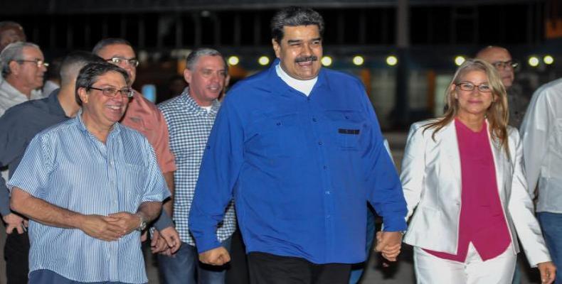 Maduro ya está en La Habana