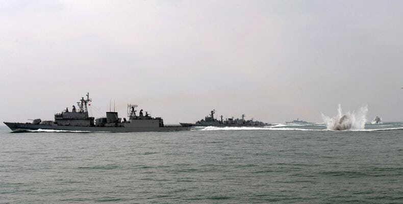 US, South Korea begin 5-day naval drills off Korean Peninsula. / South Korean Navy / Reuters