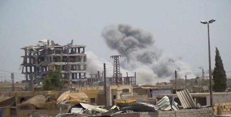 U.S. airstrikes on Syria are war crimes.  Photo: AP