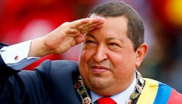 Hugo Chávez, presidente venezolano