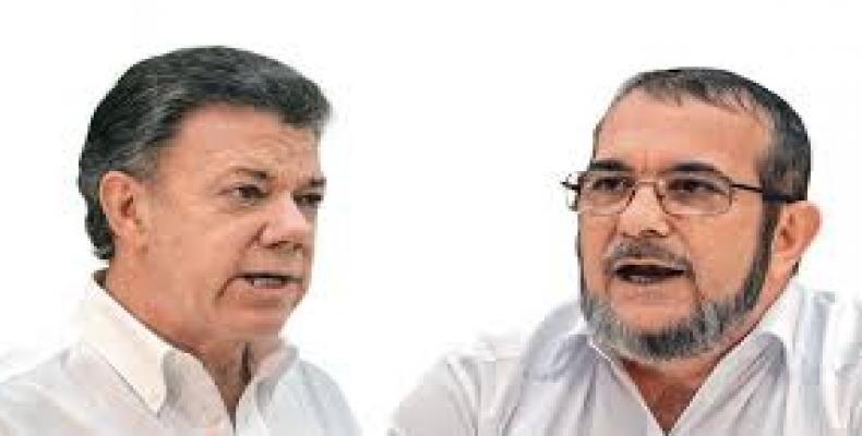 Santos y Timochenko asistirán a acto simbólico que pone fin a las FARC-EP