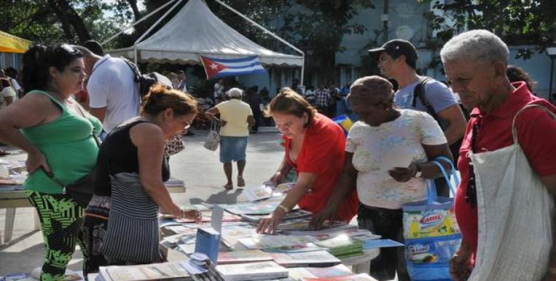 Forty-three countries to attend 28th International Book Fair in Cuban capital.  Photo: CubaDebate