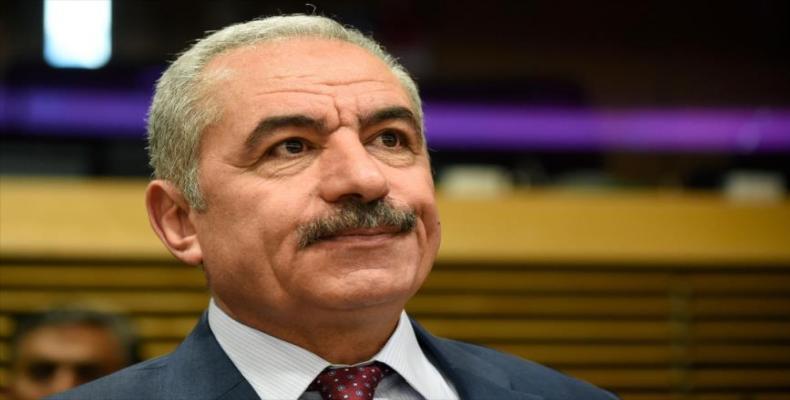 Primer Ministro Palestino Mohammad Shtayyeh, HispanTV.