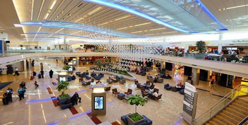 Estación aeroportuaria de Atlanta. Foto: lucatdis.com.ar
