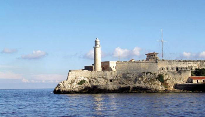 Castillo de los Tres Reyes del Morro, en La Habana. Foto: Archivo