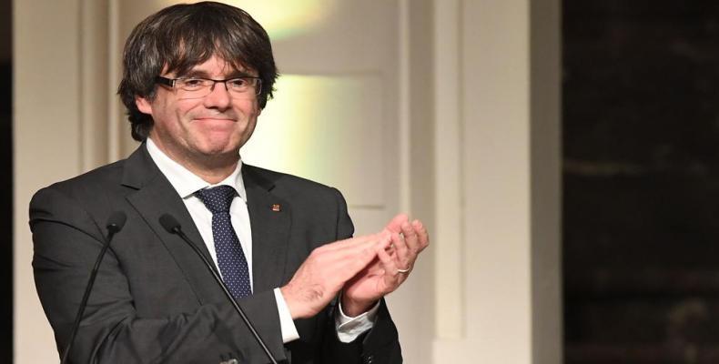 Pablo Llarena retiró las órdenes de arresto contra Puigdemont y otros cinco líderes independentistas catalanes. Foto/Archivo