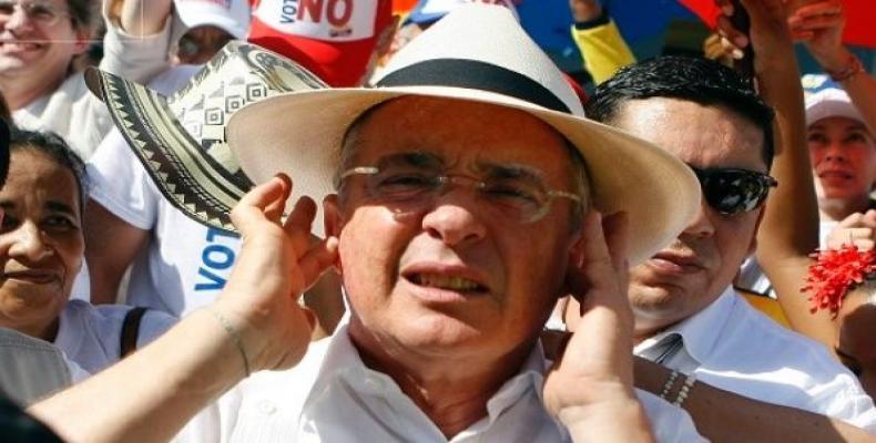 Colombian Former President Alvaro Uribe