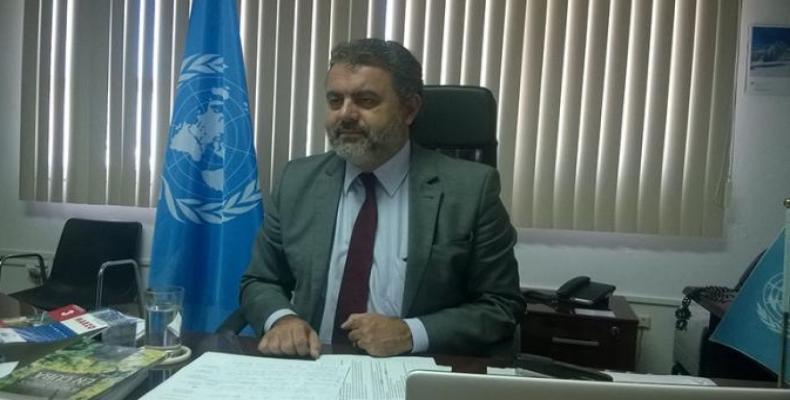 Marcelo Resende, représentant de la FAO à Cuba. Photo: Granma