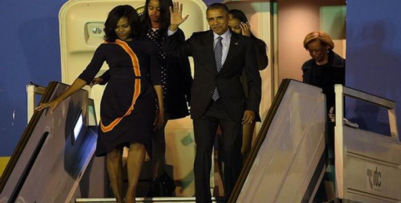 Presidente estadounidense visitó Argentina