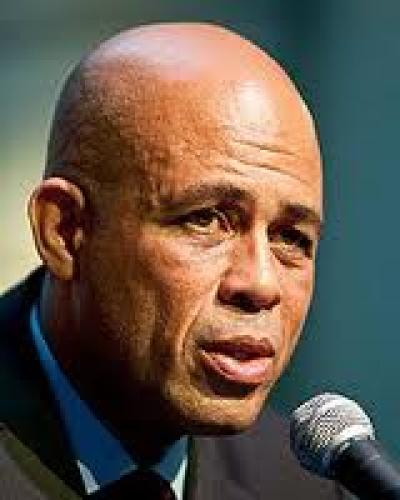 El presidente de Haití, Michel Martelly, saldrá del poder este 7 de febrero.