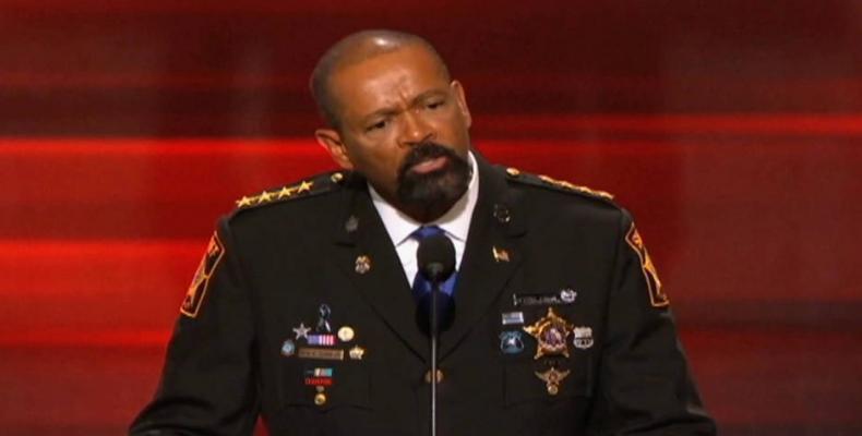 Minnesota Sheriff David Clarke