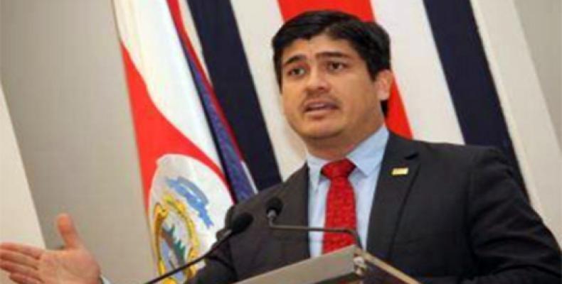 Presidente de Costa Rica, Carlos Alvarado