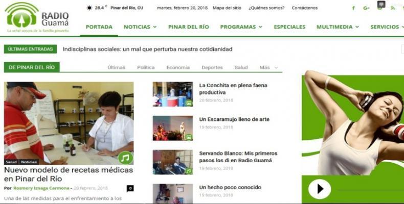 Portal digital de Radio Guamá.