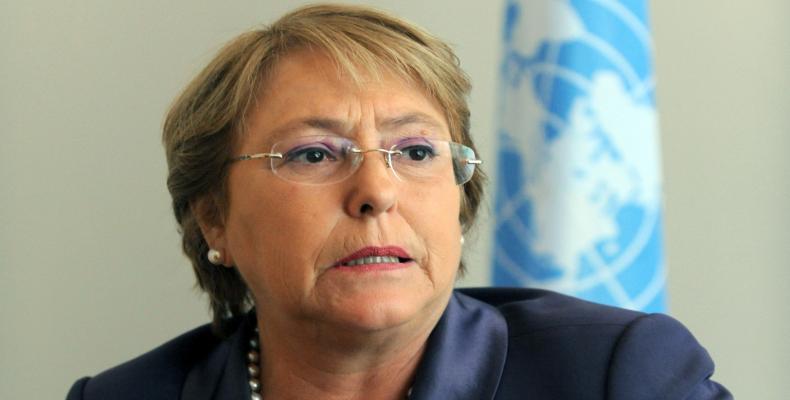 Alta comisionada para los Derechos Humanos, Michelle Bachelet,