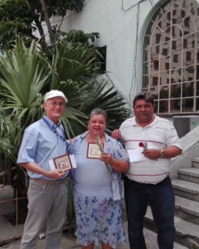 Trabajadores de Radio Habana Cuba reconocidos por la Radio Cubana.