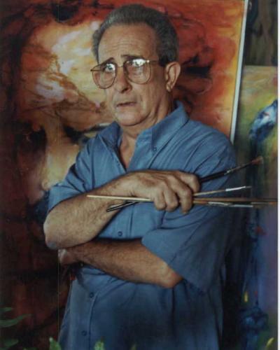 Delarra estudió en San Alejandro, centro del que fue profesor y luego su director. Foto: Archivo de la familia de José Delarra