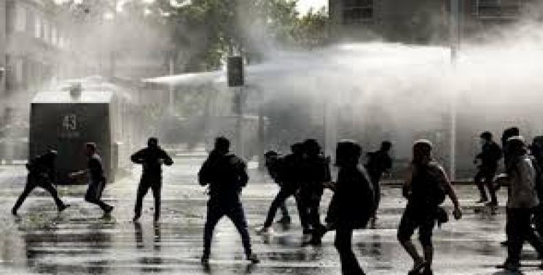 Represión de las protestas en Chile
