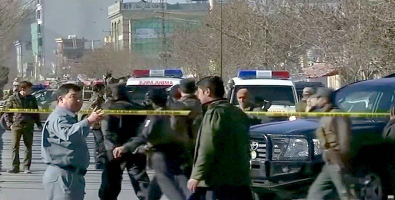 Afghan bombing kills 40 (Photo: Democracy Now)