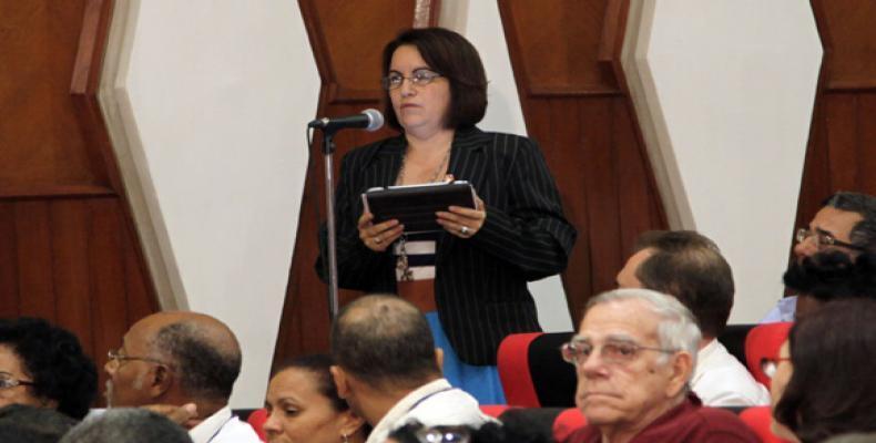 Pérez Cruz comentó que la mirada de Cuba al enfrentamiento a la corrupción difiere de la que se tiene en los países de América Latina. Foto: Archivo/Cubadebate