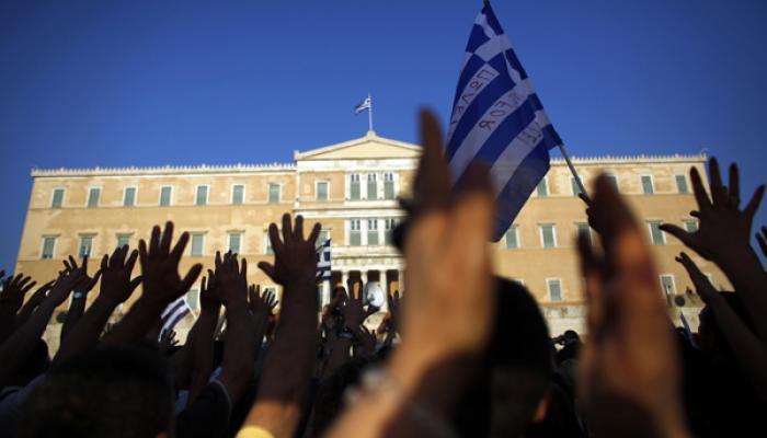 Miles de agricultores, procedentes de todos los puntos de Grecia, protestaron en Atenas