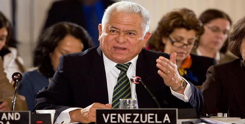 Embajador de Venezuela ante Naciones Unidas (ONU), Jorge Valero