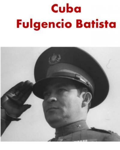 Cuba in the period 1934 to 1937 was under the de facto control the Army, headed by Fulgencio Batista