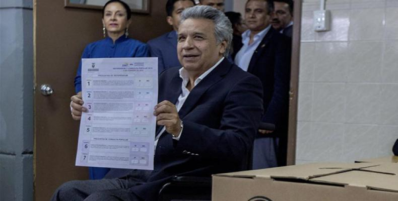 Ecuadoran President Lenin Moreno (Xinhua photo)