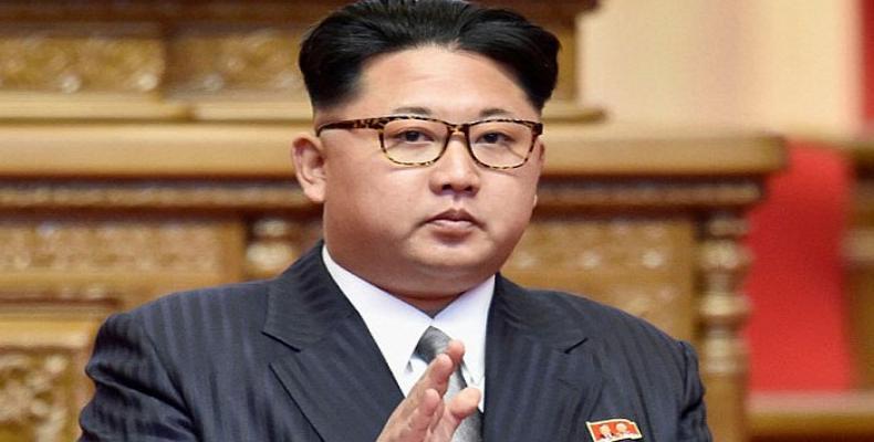 El presidente de la RPDC, Kim Jong Un, también anunció el pasado 21 de abril el cese de las pruebas nucleares y con misiles intercontinentales. Foto: Archivo